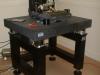 Stół laboratoryjny BILZ serii LTH na poduszkach pneumatycznych BiAir