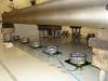 Wibroizolatory pneumatyczne BILZ serii BiAir w trakcie montażu